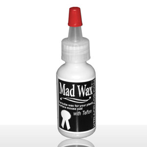 Mad Wax is liquid glide wax for your hard surface mouse pad.