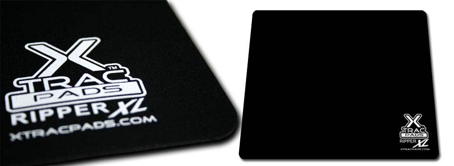 Ripper XL by XTracGear is a computer gaming mat through and through. XL sized piano black textile surface.