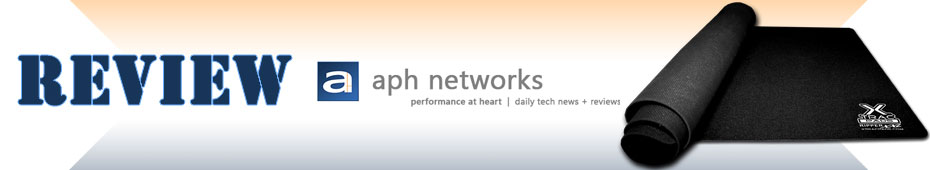 AphNetworks reviews our XTracGear Ripper XXL desk mat.