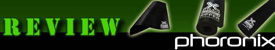 Phoronix reviews our XTracGear Carbonic, Ripper and Ripper XXL gamer mouse pads.